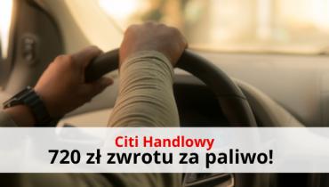 Motokarta Citibank BP: do 720 zł zwrotu za paliwo + pożyczka 0%!