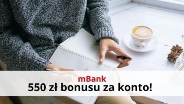550 zł za eKonto osobiste od mBanku i eBrokera!