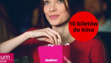Bank Millenium: odbierz 10 biletów do kina!