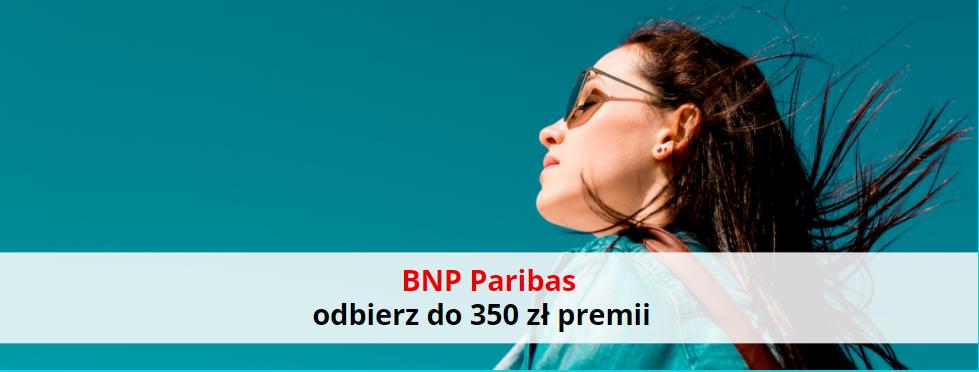 BNP Paribas: załóż darmowe konto i odbierz 350 zł premii