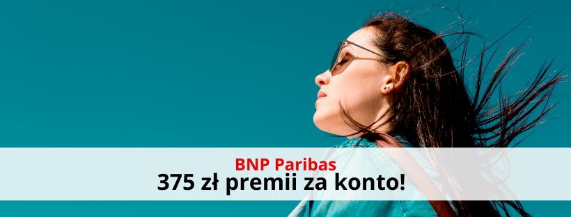 BNP Paribas: załóż darmowe konto i odbierz 375 zł na zakupy!