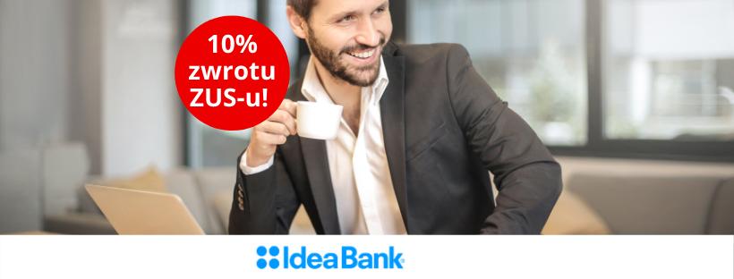 Zwrot za ZUS Idea Bank Konto FIRMA+